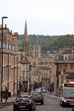 Streets of Bath Royalty Free Stock Photos