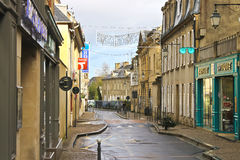 On the streets of Bayeux. Stock Image