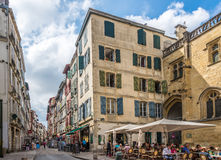 In the streets of Bayonne - France Stock Photography