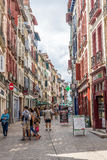In the streets of Bayonne - France Royalty Free Stock Photo