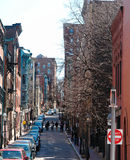 Streets of beacon hill Stock Photo