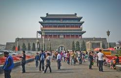 Streets of Beijing Stock Photos