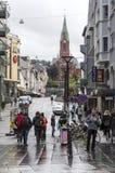 Streets of Bergen Stock Photos