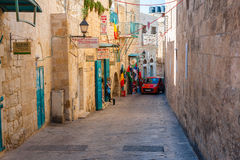Streets of Bethlehem Stock Photography