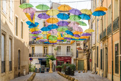 In the streets of Beziers. Royalty Free Stock Photos