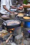 Streets of Bombay (MUMBAI, INDIA) Traditional street food Royalty Free Stock Image