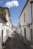 Streets of Borba, Portugal Royalty Free Stock Image