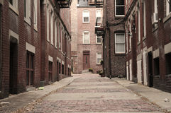 Streets of Boston Royalty Free Stock Images