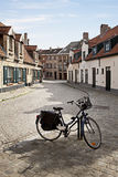 Streets of Bruges, Belgium Royalty Free Stock Photos