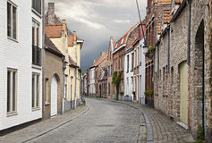 Streets of Bruges, Belgium Royalty Free Stock Photo