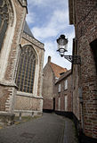Streets of Brugge, Belgium Royalty Free Stock Photo