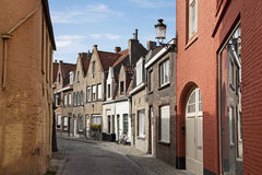 Streets of Brugge, Belgium Royalty Free Stock Photography