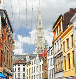 On the streets of Brussels. Stock Images