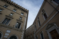 Streets and buildings of Rome Stock Photography