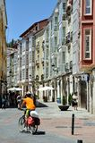 Streets of Burgos at Daytime Royalty Free Stock Photography