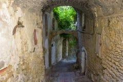 Bussana Vecchia, Italy royalty free stock image