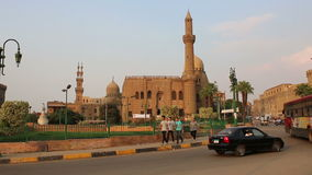 On the streets of Cairo. Egipt. stock video footage