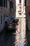 Streets and canals of Venice. This unforgettable and romantic Venice royalty free stock photo