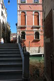 Streets and canals of Venice. This unforgettable and romantic Venice royalty free stock photography
