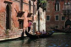 Streets and canals of Venice. This unforgettable and romantic Venice stock photography