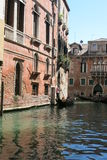 Streets and canals of Venice. This unforgettable and romantic Venice stock photos