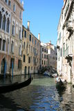 Streets and canals of Venice. This unforgettable and romantic Venice stock photo