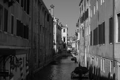Streets and canals of Venice. This unforgettable and romantic Venice stock images