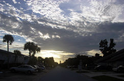 Streets Of Cape Canaveral Royalty Free Stock Photography