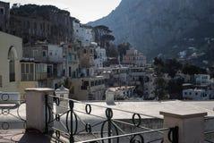 Streets of Capri, Italy. Royalty Free Stock Image