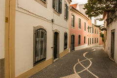 Streets of Cascais Royalty Free Stock Photos