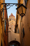 In the streets of Cervo Royalty Free Stock Images