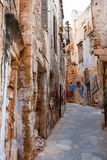 Streets of Chania royalty free stock image