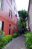 Streets of Charleston, South Carolina. stock photography