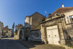 Streets of Chaumont, Haute-Marne, France Royalty Free Stock Photography