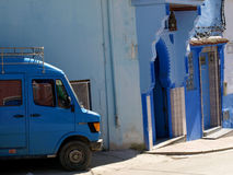 The Streets of Chefchaouen Royalty Free Stock Images