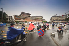 Streets of Chengdu Stock Photography