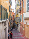 Streets of the city of Nice Royalty Free Stock Images