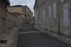 Streets of Cognac. 1. Streets of Cognac in 2 p.m stock photo