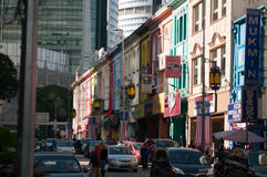 The Streets. Common street view in Kuala Lumpur, Malaysia Royalty Free Stock Photos