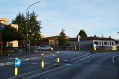 Streets in Conegliano Veneto, Italy Royalty Free Stock Photos