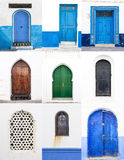 Streets and corners of Asillah in Morocco Stock Images