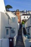 Streets of Cornwall, England Stock Photos