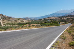 Streets in Crete Stock Images