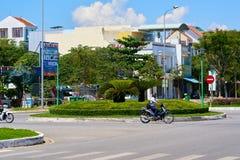 Streets of Da Nang. Royalty Free Stock Photos