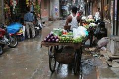 Streets of Delhi Stock Photos