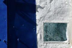 Streets detail, Mediterranean houses in Ibiza Royalty Free Stock Photo
