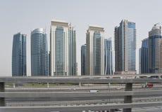 Streets of Dubai Royalty Free Stock Photo
