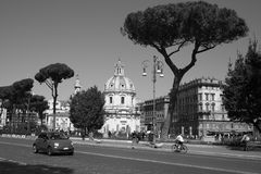 On the streets of eternal city of Rome Stock Photo