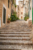 Streets of Fornalutx Mallorca Royalty Free Stock Images