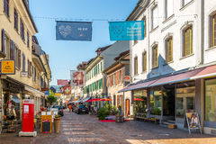 In the streets of Frauenfeld Royalty Free Stock Images